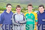 The Templenoe u16 team that rowed at the Caherciveen regatta on Sunday was l-r: Martin Reilly, John Spillane, Niall O'Sullivan and David Sheehan   Copyright Kerry's Eye 2008