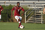 30 August 2013: Elon's Charles Howard. The Elon University Phoenix played the Northeastern University Huskies at Koskinen Stadium in Durham, NC in a 2013 NCAA Division I Men's Soccer match. The game ended in a 1-1 tie after two overtimes.