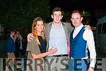 Wren Boy Night : Attending the Wren boy competition during Listowel Race Week on Friday night last were Amy & Colin Browne, Listowel & Kenny Cronin.