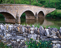 Historic Burnside Bridge over Antietam Creek; Antietam National Battlefield, MD