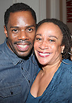 Coleman and S. Epatha Merkerson attending the Unveiling of the Revitalized Public Theater at Astor Place in New York City on 10/4/2012.
