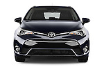 Car photography straight front view of a 2015 Toyota Avensis Business Executive 5 Door Wagon Front View