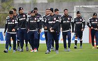 SÃO PAULO,SP, 23 julho 2013 -   treino do Corinthians no CT Joaquim Grava na zona leste de Sao Paulo, onde o time se prepara  para para enfrenta o Sao Paulo pelo campeonato brasileiro . FOTO ALAN MORICI - BRAZIL FOTO PRESS