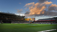 General view.<br /> New Zealand Black Caps v Australia.Tri-Series International Twenty20 cricket final. Eden Park, Auckland, New Zealand. Wednesday 21 February 2018. &copy; Copyright Photo: Andrew Cornaga / www.Photosport.nz