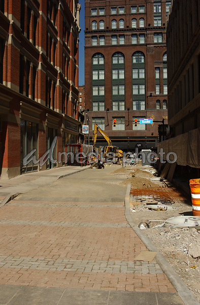 September 22, 2004; Cleveland, OH, USA; Progress on the  House of Blues Club in Cleveland that is slated to open on Thanksgiving Day. Mandatory Credit: Photo by Laura Farr/AdMedia. (©) Copyright 2004 by Laura Farr
