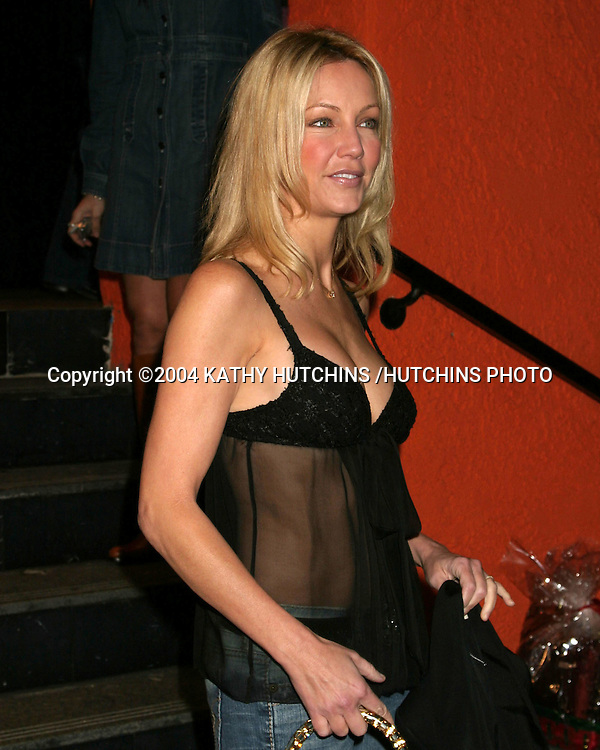 ©2004 KATHY HUTCHINS /HUTCHINS PHOTO.GRAND OPENING OF A NEW LOCATION FOR THE HOWARD FINE ACTING SCHOOL.LOS ANGELES, CA.DECEMBER 12, 2004..HEATHER LOCKLEAR.