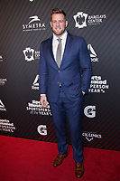 NEW YORK, NY - DECEMBER 5: J.J. Watt at the 2017 Sports Illustrated Sportsperson Of The Year Awards at Barclays Center on December 5, 2017 in New York City. Credit: Diego Corredor/MediaPunch /NortePhoto.com NORTEPHOTOMEXICO