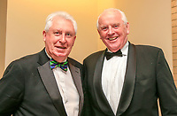 John and Brendan during the Golfing Union of Ireland Champions Dinner at Carton House, Maynooth, Co. Kildare. 01/02/2019<br /> Picture: Golffile | Thos Caffrey<br /> <br /> <br /> All photo usage must carry mandatory copyright credit (&copy; Golffile | Thos Caffrey)