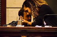 RIO DE JANEIRO, RJ, 14.06.2018 - MARIELLE FRANCO - O deputado estadual Marcelo Freixo, esteve presente no dia em que o assassinato da Vereadora Marielle Franco completa três meses aconteceu na Camara Municipal do Rio de Janeiro o lançamento do Relatório da Comissão da Mulher, que foi presidido por Marielle por um ano e três meses, Cinelândia, Rio de Janeiro, Nesta quinta-feira, 14 (Foto: Vanessa Ataliba/Brazil Photo Press)