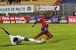 Patriotas venció como visitante 3-2 a Deportivo Pasto. Fecha 12 Liga Águila II-2016.
