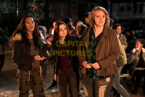 Wish Upon (2017) <br /> Sydney Park stars as Meredith, Joey King as Claire and Shannon Purser as June<br /> *Filmstill - Editorial Use Only*<br /> CAP/KFS<br /> Image supplied by Capital Pictures
