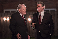 Gotti (2018)<br /> Stacy Keach &amp; John Travolta  <br /> *Filmstill - Editorial Use Only*<br /> CAP/MFS<br /> Image supplied by Capital Pictures
