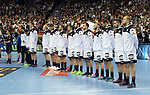 12.01.2019, Mercedes Benz Arena, Berlin, GER, Germany vs. Brazil, im Bild die Deutsche Mannschaft<br /> <br />      <br /> Foto &copy; nordphoto / Engler