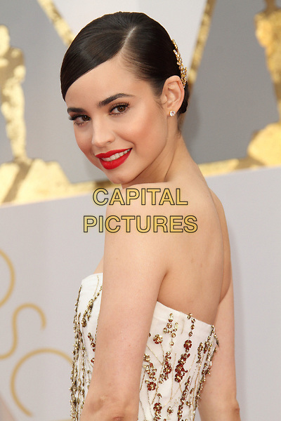 26 February 2017 - Hollywood, California - Sofia Carson. 89th Annual Academy Awards presented by the Academy of Motion Picture Arts and Sciences held at Hollywood &amp; Highland Center. <br /> CAP/ADM<br /> &copy;ADM/Capital Pictures