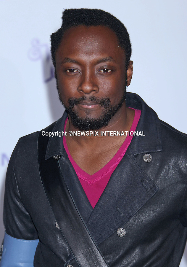 """Will.I.Am (Black Eyed Peas).at Justin Bieber's """"Never Say Never"""" World Premiere, Nokia Theatre, Los Angeles_08/02/2011.Mandatory Photo Credit: ©M.Philips_Newspix International..**ALL FEES PAYABLE TO: """"NEWSPIX INTERNATIONAL""""**..PHOTO CREDIT MANDATORY!!: NEWSPIX INTERNATIONAL(Failure to credit will incur a surcharge of 100% of reproduction fees)..IMMEDIATE CONFIRMATION OF USAGE REQUIRED:.Newspix International, 31 Chinnery Hill, Bishop's Stortford, ENGLAND CM23 3PS.Tel:+441279 324672  ; Fax: +441279656877.Mobile:  0777568 1153.e-mail: info@newspixinternational.co.uk"""