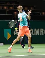 ABN AMRO World Tennis Tournament, Rotterdam, The Netherlands, 14 februari, 2017, Micha Zverev (GER)<br /> Photo: Henk Koster