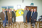 OPENING: John O'Regan and Joe Delaney (Snr) who unveiled a plaque to mark the opening of the New Dressing rooms in Mounthawk Soccer grounds on Saturday. Also in pic were. Sean O'Keeffe, Murt Murphy, Don O'Donoghue, John Delaney, Jimmy O'Sullivan, David Blood and Michael Hennebrary....................... ..............................   Copyright Kerry's Eye 2008