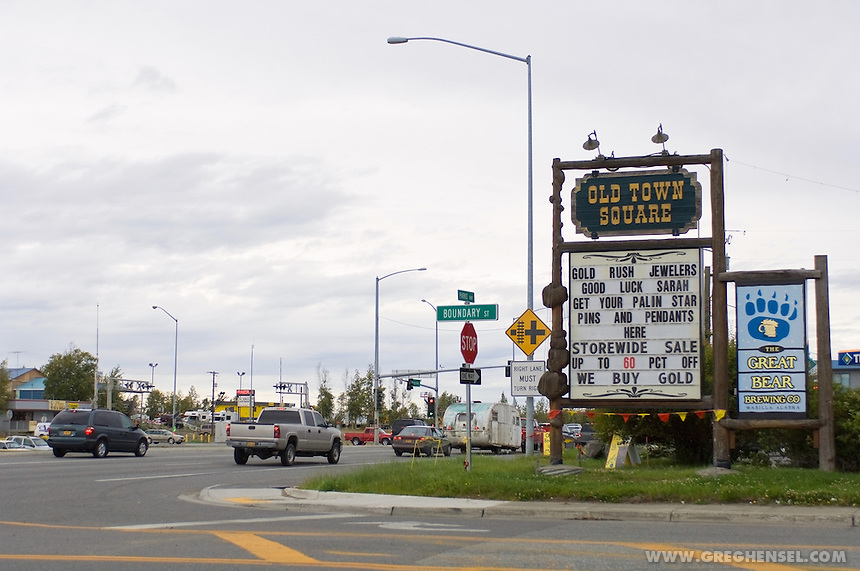 Wasilla, Alaska, the hometown of Sarah Palin, the 2008 Republican nominee for Vice President of the United States.