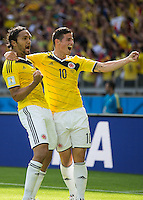 Colombia vs Greece, June 14, 2014