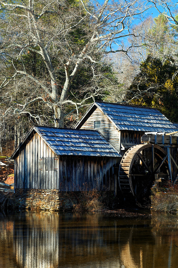 Mabry Mill, Blue Ridge Parkway, Virginia, USA (originally built in 1910)