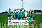 Fenit Samphires U17 side celebrate after beating Dingle Bay Rovers in the Domino's Pizza Final