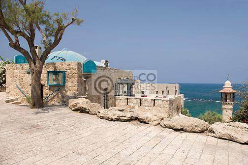 RESTAURANT JAFFA OLD TOWN TEL AVIV ISRAEL
