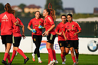 20200911 - TUBIZE , Belgium : Illustrative picture of the training session of the Belgian Women's National Team, Red Flames , on the 11th of September 2020 in Tubize. PHOTO SEVIL OKTEM| SPORTPIX.BE