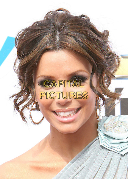 EVA LONGORIA.2007 NCLR ALMA Awards - Arrivals held at the Pasadena Civic Center, Pasadena, California, USA, 01 June 2007..portrait headshot hoop earrings.CAP/ADM/CH.©Charles Harris/AdMedia/Capital Pictures. *** Local Caption *** .