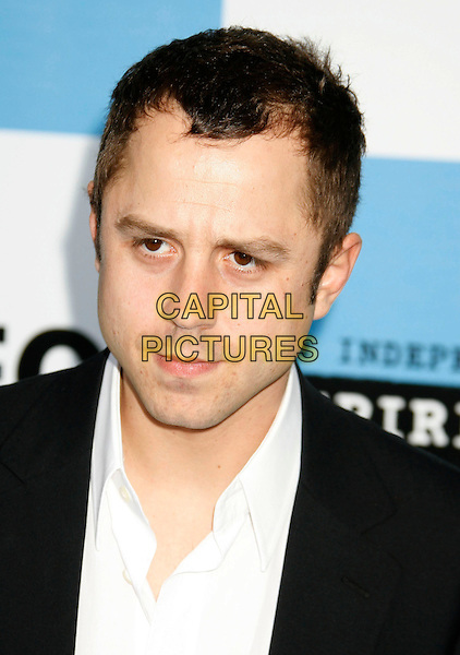 GIOVANNI RIBISI.The 2007 Independent Spirit Awards held at the Santa Monica Pier, Santa Monica, California, USA..February 24th, 2007.headshot portrait .CAP/ADM/RE.©Russ Elliot/AdMedia/Capital Pictures