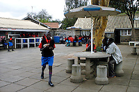 Nairobi .Un bar all'interno del college..Nairobi: a school shop in the private college