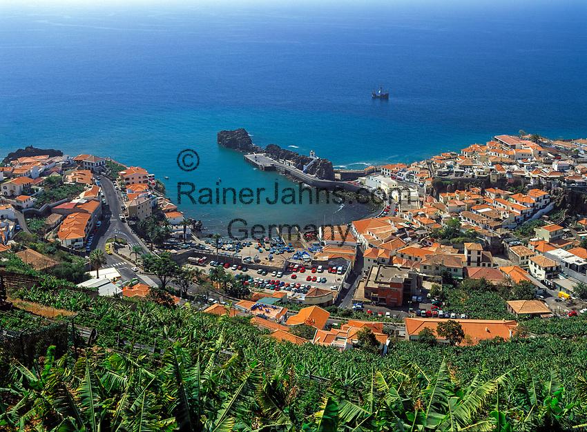 Portugal, Madeira, Camara de Lobos: Fischerdorf | Portugal, Madeira, Camara de Lobos: fishing village