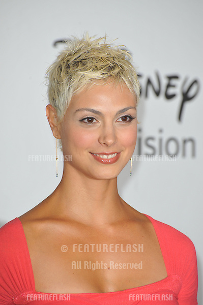 """Morena Baccarin - star of """"V"""" - at the Disney ABC TV All Star Mixer at the Beverly Hilton Hotel, Beverly Hills, CA..August 1, 2010  Los Angeles, CA.Picture: Paul Smith / Featureflash"""