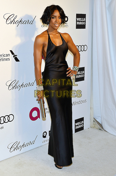 02 March 2014 - West Hollywood, California - Kelly Rowland. 22nd Annual Elton John Academy Awards Viewing Party held at West Hollywood Park. <br /> CAP/ADM/CC<br /> &copy;CC/AdMedia/Capital Pictures