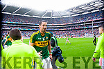 Anthony Maher, Kerry players after defeating Tyrone in the All Ireland Semi Final at Croke Park on Sunday.