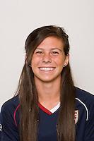 Erika Tymrak. U-17 USA Women's National Team head shots on September 16, 2008. Photo by Howard C. Smith/isiphotos.com