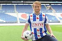 VOETBAL: HEERENVEEN: Abe Lenstra stadion 18-08-2014, Presentatie Sam Larsson (SWE) bij SC Heerenveen, ©foto Martin de Jong