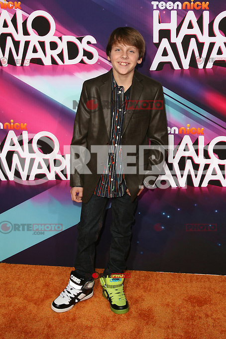LOS ANGELES, CA - NOVEMBER 17: Jacob Bertrand at the TeenNick HALO Awards at The Hollywood Palladium on November 17, 2012 in Los Angeles, California. Credit mpi27/MediaPunch Inc. NortePhoto