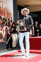 April 16, 2010: Alan Jackson receives the 2405th star on the Hollywood of Fame, Los Angeles, California. Photo by Nina Prommer/Milestone Photo