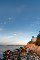 Bass Harbor Head Light, Acadia National Park, Bass Harbor, Tremont, Maine, USA