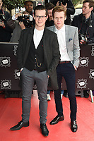 Harry Reid &amp; Jamie Borthwick at the TRIC Awards 2017 at the Grosvenor House Hotel, Mayfair, London, UK. <br /> 14 March  2017<br /> Picture: Steve Vas/Featureflash/SilverHub 0208 004 5359 sales@silverhubmedia.com