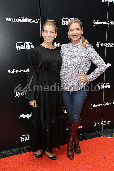 30 October 2016 - Hollywood, California - Sarah Michelle Gellar, Jessica Seinfeld . GOOD+ Foundation 1st Annual Halloween Bash held at Sunset Gower Studios. Photo Credit: PMA/AdMedia