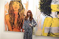 SANTA MONICA - JUN 25: Faith Picozzi at the David Bromley LA Women Art Exhibition opening reception at the Andrew Weiss Gallery on June 25, 2016 in Santa Monica, California
