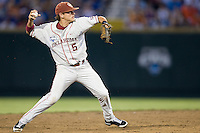 Bushyhead, Caleb 1742 in Game 8 of the NCAA Division One Men's College World Series on Monday June 22nd, 2010 at Johnny Rosenblatt Stadium in Omaha, Nebraska.  (Photo by Andrew Woolley / Four Seam Images)