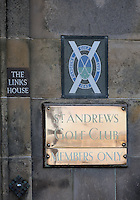 01  OCT 14  The Old Course in St. Andrews, Scotland. (photo credit : kenneth e. dennis/kendennisphoto.com)