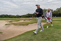 Austin Cook (USA) heads for 15 during Round 2 of the Valero Texas Open, AT&T Oaks Course, TPC San Antonio, San Antonio, Texas, USA. 4/20/2018.<br /> Picture: Golffile | Ken Murray<br /> <br /> <br /> All photo usage must carry mandatory copyright credit (© Golffile | Ken Murray)