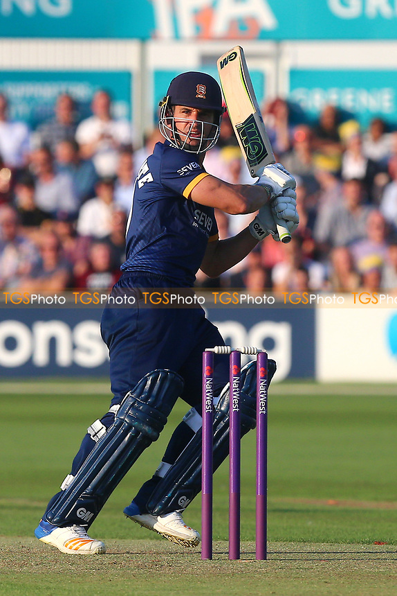 Ryan ten Doeschate in batting action for Essex during Essex Eagles vs Somerset, NatWest T20 Blast Cricket at The Cloudfm County Ground on 13th July 2017