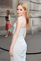 Ellie Bamber<br /> at the at the V&A Museum Summer Party 2017, London. <br /> <br /> <br /> ©Ash Knotek  D3286  21/06/2017