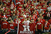 January 5th, 2008:  Rutgers fans await the championship trophy presentation after the International Bowl at the Rogers Centre in Toronto, Ontario Canada...Rutgers defeated Ball State 52-30.  ..Photo By:  Mike Janes Photography