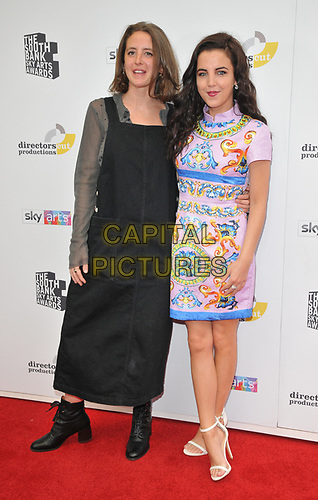 Louisa Harland and Jamie-Lee O'Donnell at the South Bank Sky Arts Awards 2019, The Savoy Hotel, The Strand, London, England, UK, on Sunday 07th July 2019.<br /> CAP/CAN<br /> ©CAN/Capital Pictures