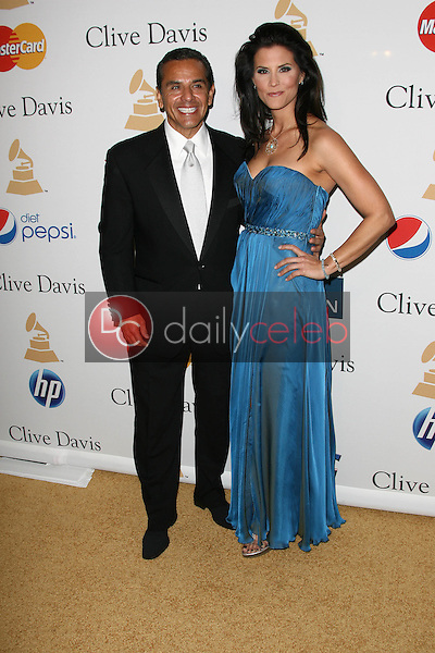 Antonio Villaraigosa and Lu Parker<br />